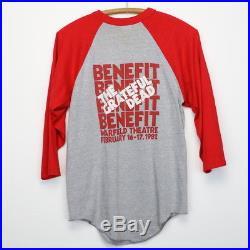 Grateful Dead Shirt Vintage tshirt 1982 Warfield Theatre Psychedelic Rock Band