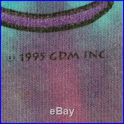 Grateful Dead Shirt Vintage tshirt 1995 Rainbow Tie Dye Bob Weir Jerry Garca 90s