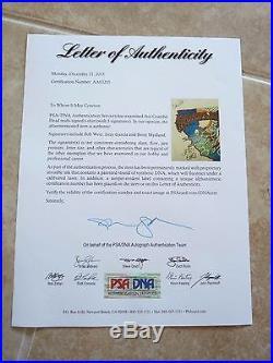 Grateful Dead Signed Tour Shirt 1987 PSA Certified Jerry Garcia Bob Weir Mydland