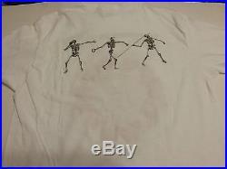 Grateful Dead Summer Games 1984 Dash 4 Rose Unique Shirt L Vg Rare Clean Vtg Htf
