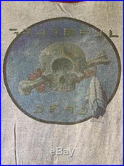 Grateful Dead T Shirt 1977 Stanley Mouse Authentic Vintage Terrapin Station