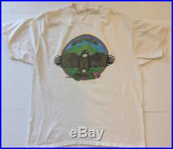 Grateful Dead T-Shirt Size XL 1984 Dave Lundquist Eagle Eye Studios G. D. P
