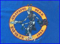 Grateful Dead T-Shirt Size XL Santa Fe, NM 1983