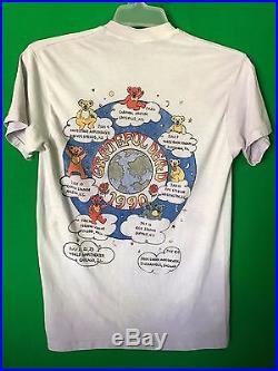 Grateful Dead T Shirt Vintage 1990 Summer Tour 25th Anniversary