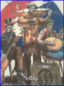 Grateful Dead Tour Shirt 93 Rare Mens sz XL Vintage Made in USA Liquid Blue GDM