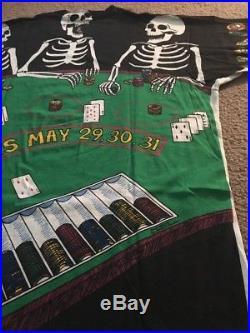 Grateful Dead VTG T-Shirt 1992 GDM Las Vegas Tour Shirt NOS Super Rare! XL