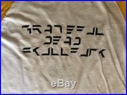 Grateful Dead Vintage 1971 Concert T-Shirt (Original)