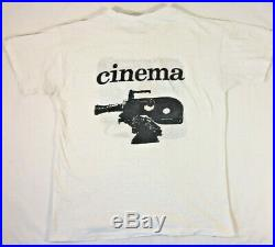 Grateful Dead Vintage 1974 Film Crew T Shirt Mars Hotel Large BVD Super Rare