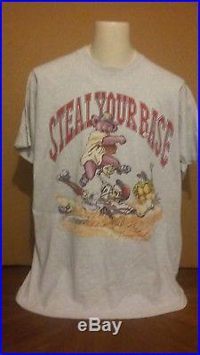 Grateful Dead Vintage 1994 Steal Your Base Tour T Shirt XL
