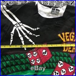 Grateful Dead Vintage Liquid Blue T-shirt Las Vegas 1992 Never Worn XL