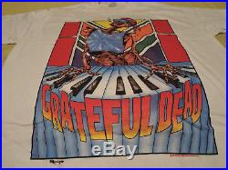 Grateful Dead Vintage Rock Concert T-shirt Summer Tour (1989) VG Scarce