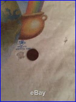 Grateful Dead Vintage Shirt RARE 1972 Ice Cream Kid (PLEASE READ DESCRIPTION)