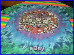Grateful Dead Vintage Soft Distressed Rock Tee Shirt XL Steal Your Face