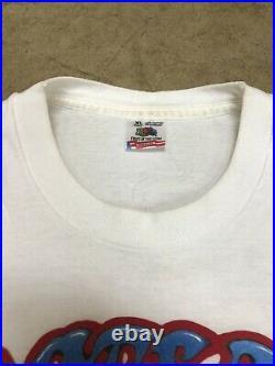 Grateful Dead Vintage T Shirt Portland Seattle 1995 Tour Sz XL