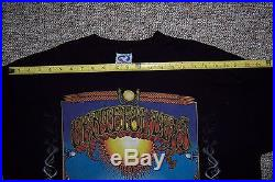 Grateful Dead XL Liquid Blue T-Shirt Classic Aoxomoxoa Album cover design