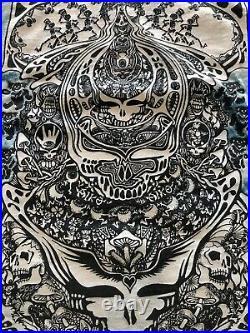Grateful Dead XL Tie Dye T Shirt Jester Ts Gary McMillian Vintage 1986 Aiko Tee