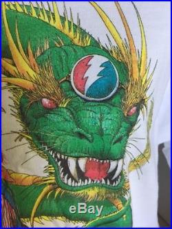 Grateful Dead Year Of The Dog 1994 T-Shirt Timothy Roman Artist