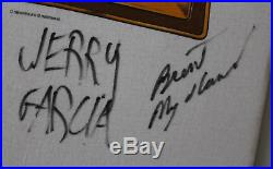 Grateful Dead band (x6) signed autographed shirt! Jerry Garcia! RARE! Authentic