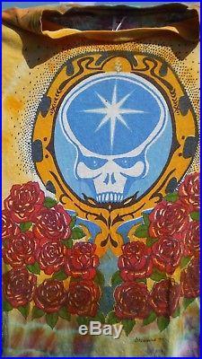 Grateful Dead parking lot Vintage T shirt 1978 Ed Donohue REAL see details