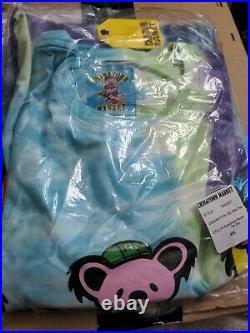 Grateful Dead x CTM Chinatown Market Sz XXL PMA T-Shirt Blue Tie-Dye