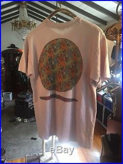 Grateful dead Shirt Vintage 80s Escher Optical Illusion Festival Tee Acid Rock