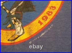 Grateful dead shirt 1983 GDP vintage Santa Fe New Mexico Rare Dennis Larkins XL