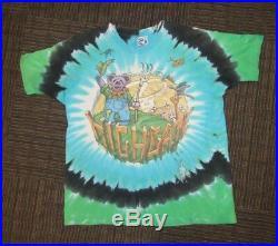 Grateful dead shirt 1995 GDM Liquid Blue vintage XL Highgate 1995 90s tie dye