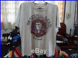 Grateful dead t shirt Vintage 90s music band tour concert Jerry Garcia size XL