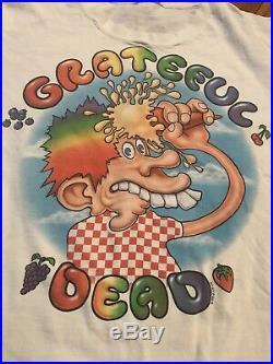 HOLY GRAIL 1994 Grateful Dead Vintage T-shirt Ice Cream Tour 90s Tour Band Tee