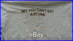 LAYS potato chips bag never worn old VINTAGE T SHIRT XL grateful dead lot