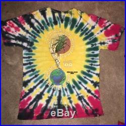Lithuania Basketball 1996 Olympics Tie Dye Shirt Grateful Dead Not Fade Away XL