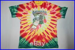Lithuania Basketball Grateful Dead Tie Dye T-Shirt Adult XXL Cotton Vintage