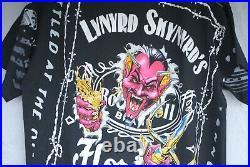 Lynyrd Skynyrd Devil in the Bottle AOP T Shirt Allman Brothers Grateful Dead