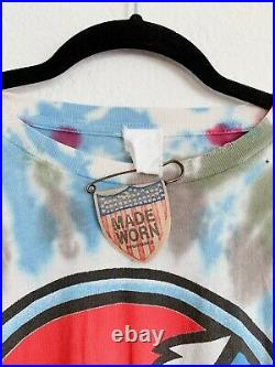 MadeWorn Grateful Dead Steal Your Face Tie Dye Tee