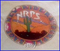 NRPS NEW RIDERS VINTAGE SHIRT LP 1970s Grateful Dead Jerry Garcia 1972