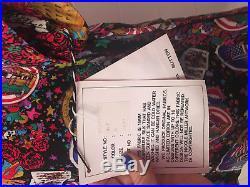 NWT Nicole Miller Grateful Dead Silk Shirt New Old Stock Size Medium Large