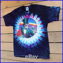 New Grateful Dead 1998 Jerry Garcia Tour Concert Shirt Stanley Mouse sz. L RARE