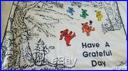 Original Vintage GRATEFUL DEAD Have a Grateful day Dancing Bears T-shirt L