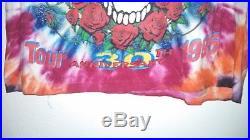 RARE DEADSTOCK Vintage 1995 Grateful Dead Anniversary Rock Tye Dye XL Shirt
