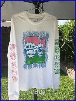 RARE Nike SB Grateful Dead LS Shirt Quickstrike Limited Promo Sample Size XS