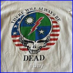 RARE Vintage 90s Military Grateful Dead Lot Tee 1st Battalion Army Ranger Shirt