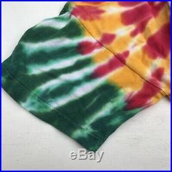 RARE Vtg 1992 Grateful Dead Lithuania Basketball deadstock Tie Dye Shirt XL