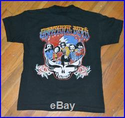 RaRe 1978 GRATEFUL DEAD vtg concert tour t-shirt MINT (S/M) 70's Jerry Garcia