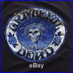 RaRe 1980 GRATEFUL DEAD On The Road Again Vintage Tour Concert Band Shirt 80s