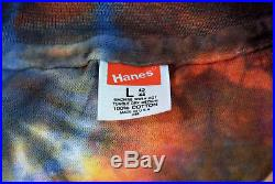 Rare 1977 Ed Donohue Spring From Night Grateful Dead Tie Dye T-shirt-large