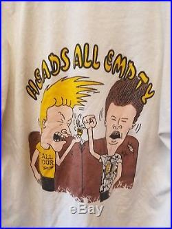 Rare 1993 Beavis and Butt-head Grateful Dead tour t-shirt SZ XL Supreme round 2