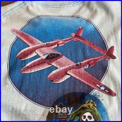 Rare 70s Grateful Dead Mouse Kelley Test Print Tshirt Concert Vintage