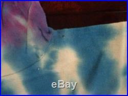 Rare Authentic Vintage Grateful Dead Jerry Garcia face 1980's tie dye t-shirt L