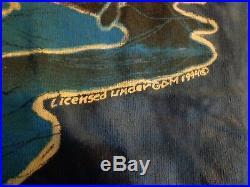 Rare Authentic vintage Grateful Dead 1994 Whale/sunset tie dye t-shirt Large