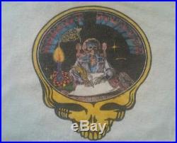 Rare Grateful Dead Promo robert hunter t-Shirt 1970's Vintage 1979 soft thin